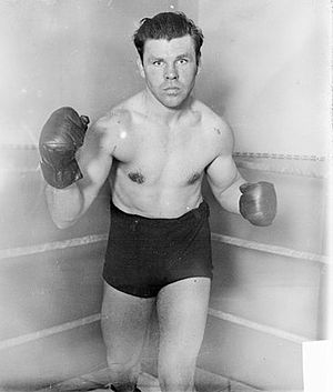 Mickey Walker (boxer) - Image: Mickey Walker portrait LOC