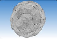 Micro-CT braided polymer rope 3D 03