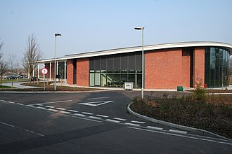 Chicksands - Image: Mid Beds District Council Offices geograph.org.uk 382472