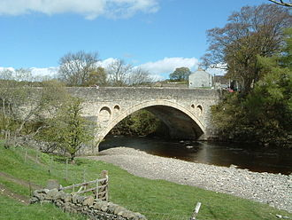 Middleton-in-Teesdale - The bridge over the River Tees at Middleton-in-Teesdale