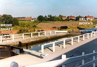 History of salt in Middlewich - Site of Kinderton Salt Works (1980s)