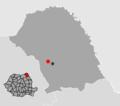 Mihai Eminescu, Botosani Location.png