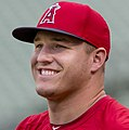 Mike Trout of Anaheim on July 31, 2014 (cropped).jpg