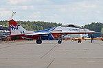 Mikoyan-Gurevich MiG-29UB '14 blue' (37439149631).jpg