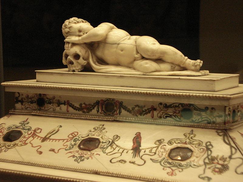 File:Milano - Castello sforzesco - Cofanetto tedesco avorio sec. XVI - sec. XVII - Foto Giovanni Dall'Orto - 6-1-2007 - 02.jpg
