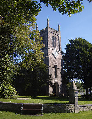George Webster (architect) - St Thomas' Church, Milnthorpe