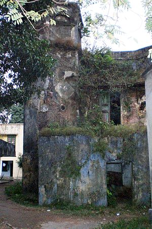 Portuguese settlement in Chittagong - The first court building of Chittagong known as Darul Adalat located in Government Hazi Mohammad Mohshin College is a testimony of the Portuguese settlement.