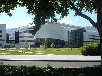École nationale supérieure de physique, électronique et Matériaux - Minatec in August 2007