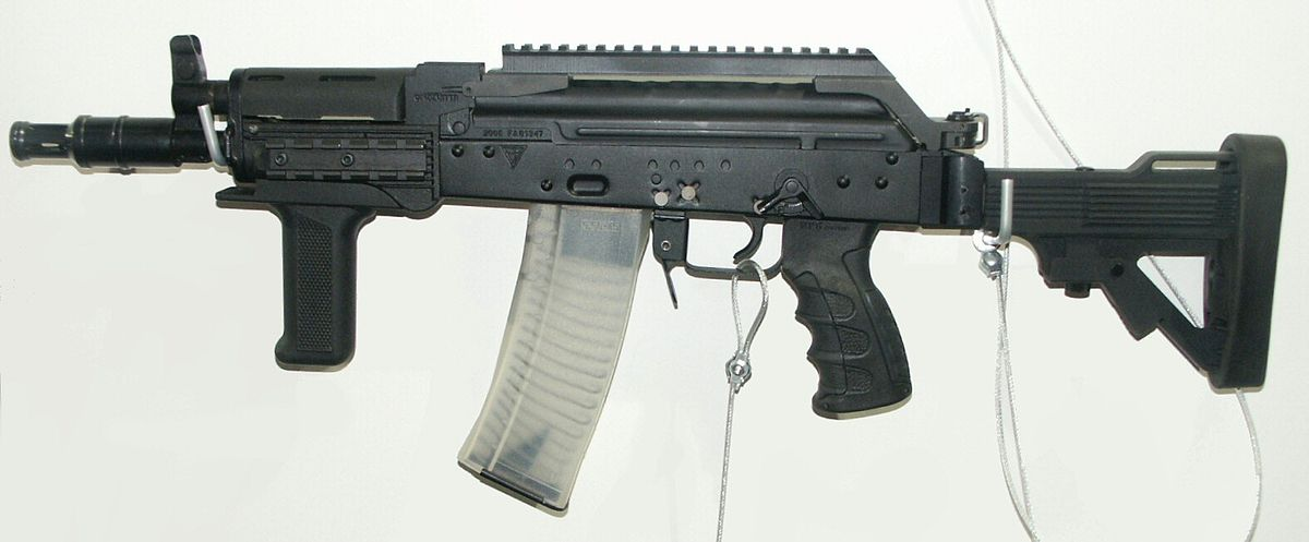 photo regarding Polish Ak 47 Receiver Template Printable identified as Facebook Mini-Beryl - Wikipedia