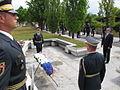 Minister za obrambo je položil venec k spomeniku Pomnik 1991 4.jpg