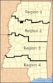 Mississippi Forestry Commission Region Map.png