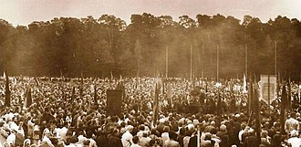Lithuanian Soviet Socialist Republic - Massive meeting at Vingis Park on 23 August 1988