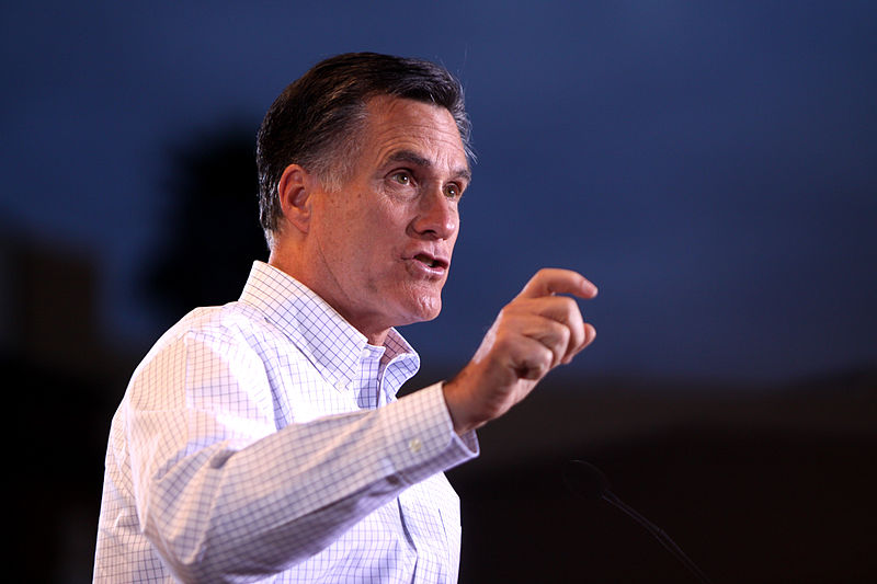 Mitt Romney, presidential candidate