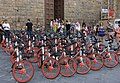 Mobike Classics in front of Palazzo Vecchio, Florence.jpg
