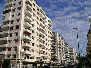 Modern neighborhood - Latakia, Syria