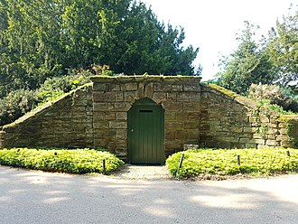 Ice house (building) - The ice house at Moggerhanger Park, Moggerhanger, Bedfordshire