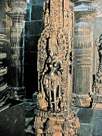 Chennakeshava Temple, Belur - The temple is famous for its rendering of Mohini, the female avatar of Vishnu.