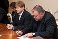 Moldovas parlamenta priekšsēdētāja pirmā vietnieka Vladimira Plahotņuka vizīte Latvijā (8138135365).jpg