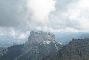 Mont Aiguille - Mont Aiguille from le Grand Veymont