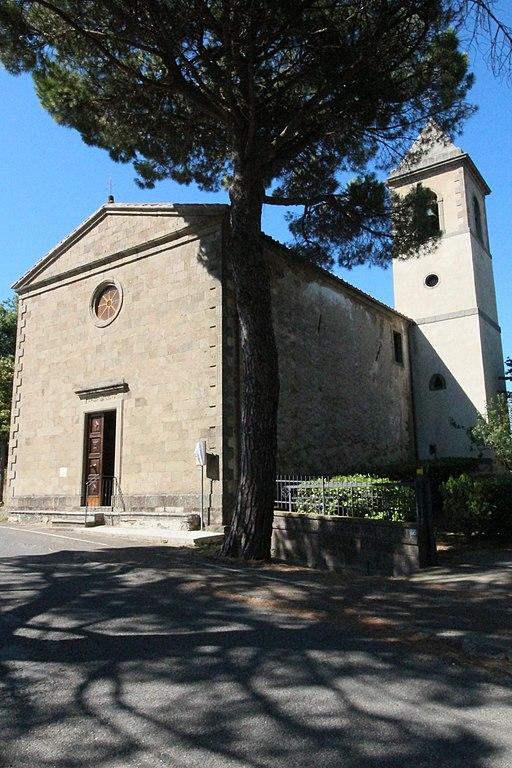 Montegiovi, Chiesa della Madonna degli Schiavi