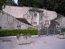 Monumento a Giovanni Buitoni (1822-1901) a Sansepolcro.