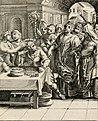 Moralia Horatiana, das ist, Die Horatzische sitten-lehre - aus der ernst-sittigen geselschaft der alten weise-meister gezogen, und mit 113 (i.e. 103) in kupfer gestochenen sinn-bildern, und eben so (14750727495).jpg