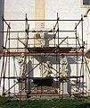 Moravský Krumlov - kostel sv Bartoloměje, sousoší Piety.jpg