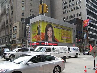 Morning Express with Robin Meade - Morning Express with Robin Meade billboard in New York City