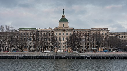 The Moscow Orphanage (founded in 1763, constructed in the 1770s) Moscow Orphanage asv2018-01.jpg