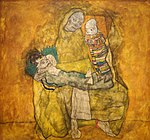Mother with two children II Egon Schiele 1915.jpg