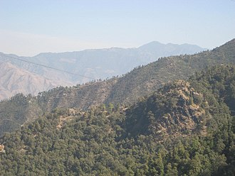 Mussoorie - Another view from top of a Hill