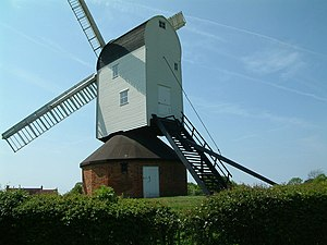 Mountnessing Windmill - Image: Mountnessing windmill