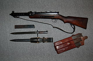 MP 34 submachine gun