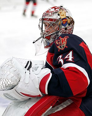 Petr Mrázek - Mrazek in the 2013 AHL All-Star Game