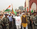 Mukhtar Abbas Naqvi participating in the 'Run for Unity', on the occasion of the Rashtriya Ekta Diwas, to mark the Sardar Vallabhbhai Patel's birth anniversary, at Rampur, Uttar Pradesh (1).jpg