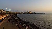 Mumbai 03-2016 46 evening at Marine Drive.jpg