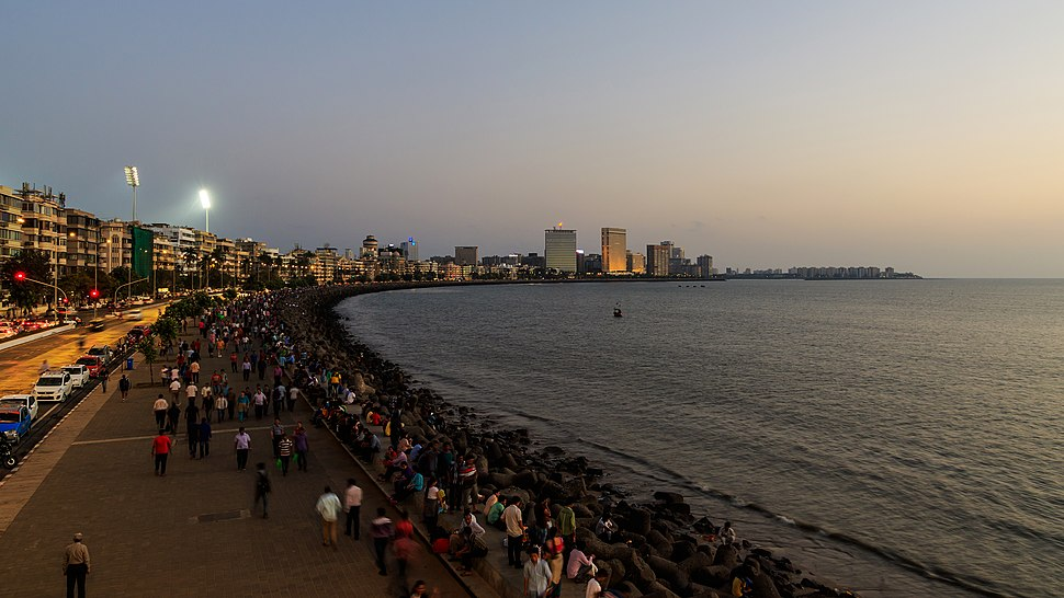 Mumbai 03-2016 46 evening at Marine Drive