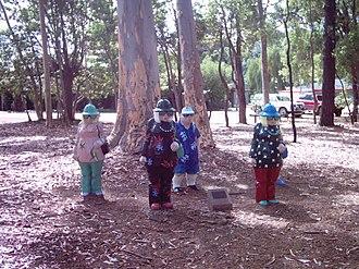 Mundaring, Western Australia - Statues in Sculpture Park, Mundaring