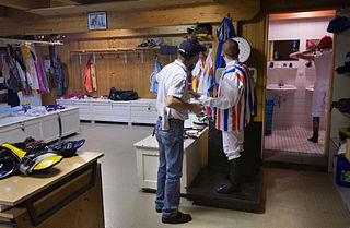Jockeys Changing Room Fags