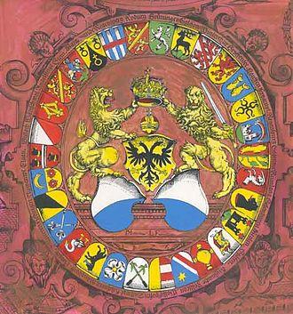 Murerplan - Image: Murer Wappenscheibe
