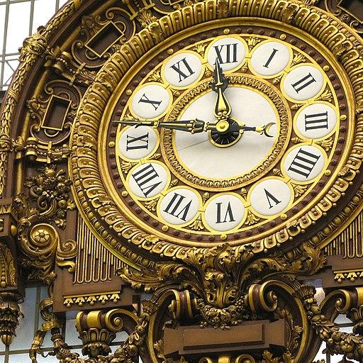 Musée d'Orsay clock 2