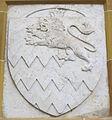 Museo stibbert, ext., stemma rucellai.JPG