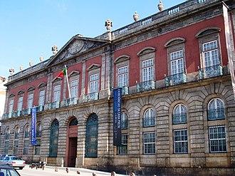 Carrancas Palace - A view of the former-Palace of the Carrancas, home to the Soares dos Santos National Museum