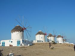 Mykonos Windmills at Chora.jpg
