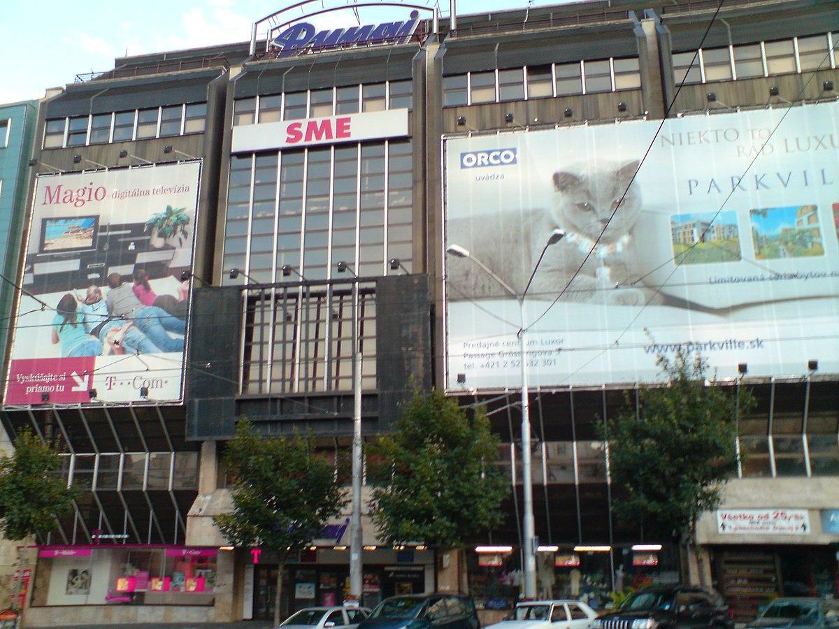 Naj budovy Slovenska: Prvý obchodný dom sa volal Brouk a Babka