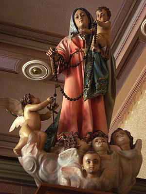 Our Lady of the Rosary, in Chapel Nosso Senhor...