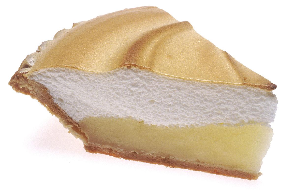 Lemon Meringue Cake Roll