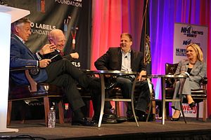 Chris Sununu - Sununu at a 2016 gubernatorial candidate forum steered by former Utah Governor Jon Huntsman Jr. and former Connecticut Senator Joe Lieberman.