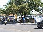 NM Unions Protest John McCain at Hotel Albuquerque (2672897985).jpg