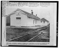 NORTH AND WEST SIDES - Oregon Short Line Railroad Depot, Highway 23, Cache Junction, Cache County, UT HABS UTAH,3-CAJU,1-2.tif